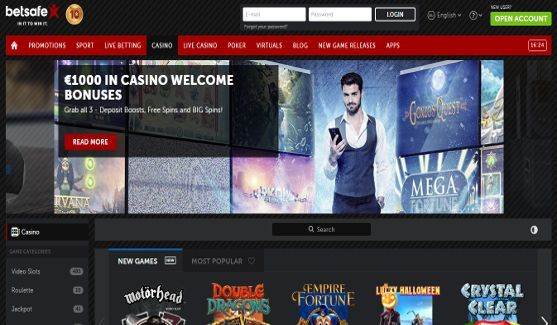 betsafe casino website