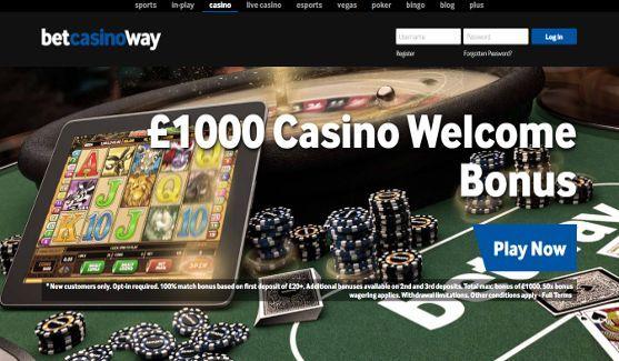 betway casino website