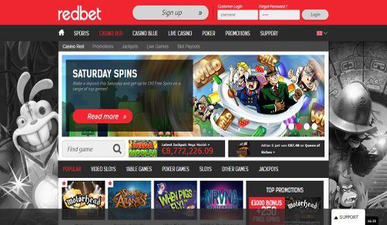 redbet casino website