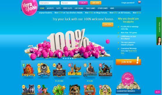 vera john casino website